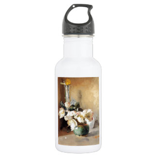 Christmas Roses 1897 Water Bottle