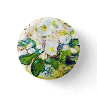 Christmas Roses Claude Monet flowers floral paint Pin