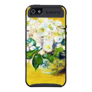 Christmas Roses Claude Monet flowers floral paint iPhone 5 Cases
