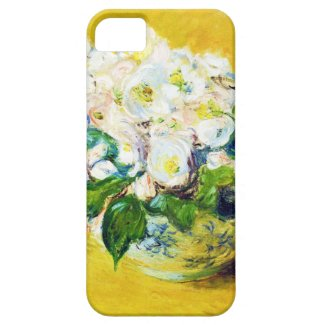 Christmas Roses Claude Monet flowers floral paint iPhone 5 Covers