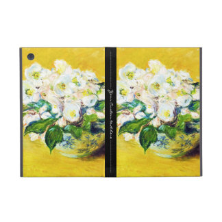 Christmas Roses Claude Monet flowers floral paint Cases For iPad Mini