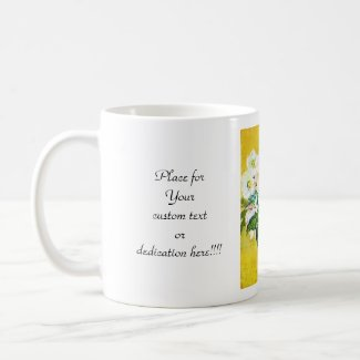 Christmas Roses Claude Monet flowers floral paint Coffee Mugs