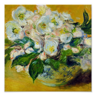 Christmas Roses - Claude Monet Poster