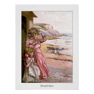 Christmas Roses: Father's Boat Poster