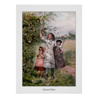 Christmas Roses: Golden Days Posters