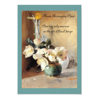 Christmas Roses 5x7 Paper Invitation Card