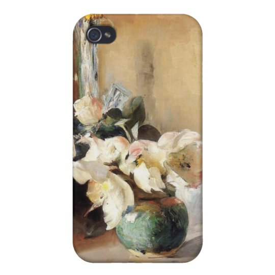 Christmas Roses iPhone 4/4S Cases