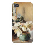 Christmas Roses iPhone 4 Cases