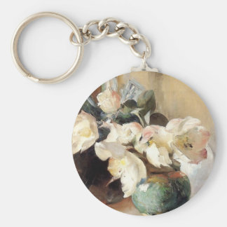 Christmas Roses Key Chain