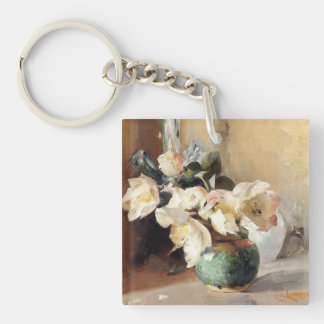 Christmas Roses Keychain