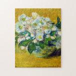 Christmas Roses Monet Fine Art Puzzle