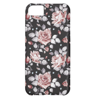christmas roses vintage flowers iphone 5 case
