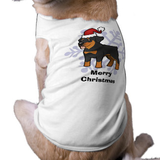 Christmas Rottweiler T-Shirt