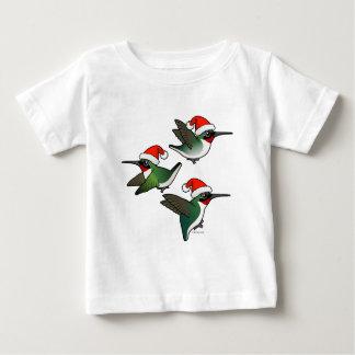 Christmas Ruby-throated Hummingbird Shirt
