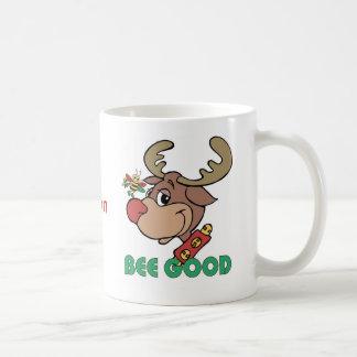 Christmas Rudolph Bee Good Coffee Mug