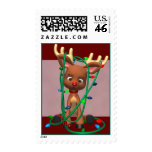 Christmas Rudolph the Red Nosed Reindeer Postage S