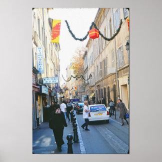 Christmas-Rue Italia Print