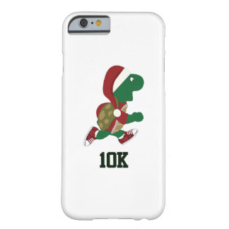 Christmas Running Turtle 10K Barely There iPhone 6 Case