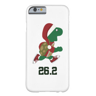Christmas Running Turtle 26.2 Barely There iPhone 6 Case