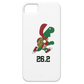 Christmas Running Turtle 26.2 iPhone SE/5/5s Case
