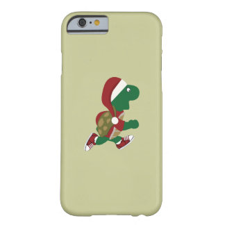 Christmas Running Turtle Barely There iPhone 6 Case