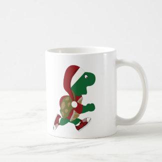 Christmas Running Turtle Coffee Mug