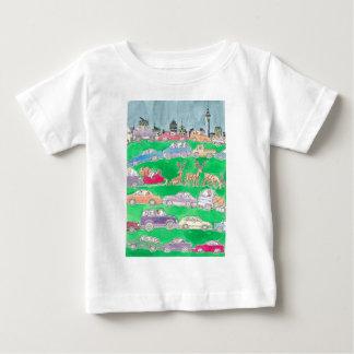 Christmas rush. baby T-Shirt