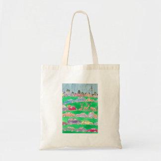 Christmas rush. tote bag