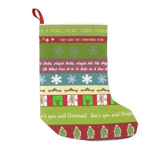Christmas Sampler Christmas Stocking Small Christmas Stocking
