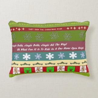 Christmas Sampler Decorator Pillow