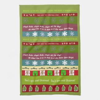 Christmas Sampler Kitchen Towel