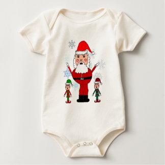 Christmas Santa and Elves Bodysuits