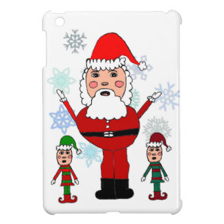 Christmas Santa and Elves Case For The iPad Mini