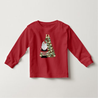 Christmas Santa and tree unisex toddler t-shirt