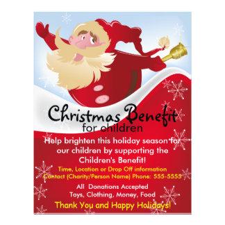 Christmas Santa Benefit for Children Flyer