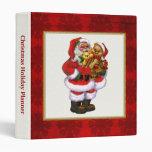 Christmas Santa Binder