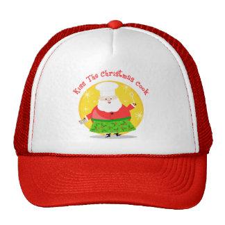 Christmas Santa Chef Hats