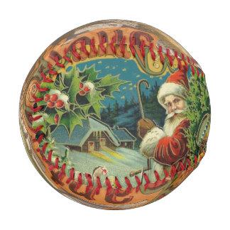 Christmas Santa Claus Antique Vintage Victorian Baseball