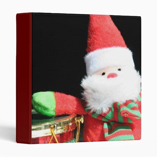 Christmas Santa Claus binder