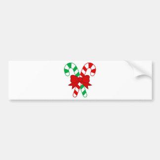 Christmas Santa Claus Bumper Stickers