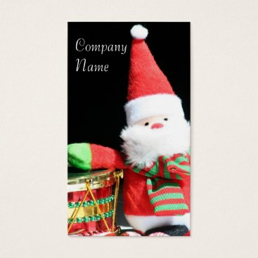Christmas Themed Christmas Santa Claus business cards