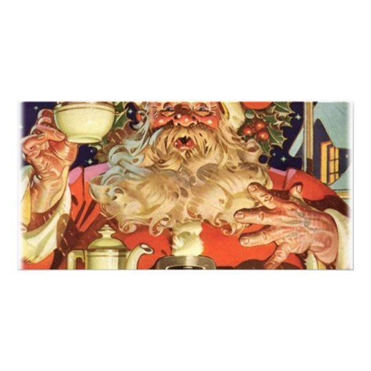 Christmas Santa Claus Card