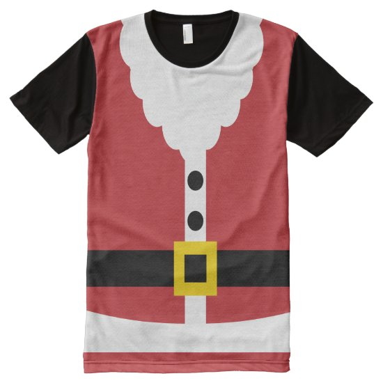 Christmas Santa Claus Costume (1) All-Over-Print T-Shirt