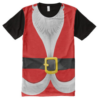 Christmas Santa Claus Costume (2) All-Over-Print T-Shirt