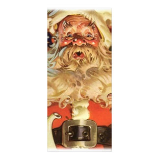 Christmas Santa Claus Custom Rack Card