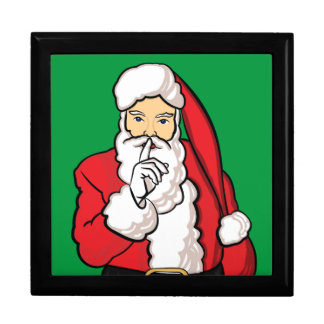 Christmas Santa Claus Gift Box