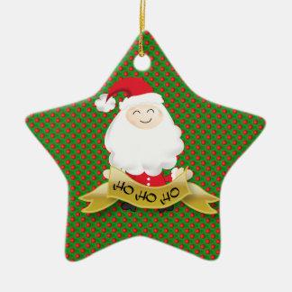 Christmas Santa Claus Ho Ho Ho ornament