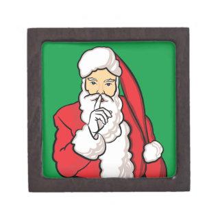 Christmas Santa Claus Jewelry Box