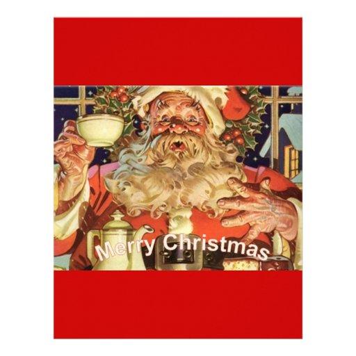 Christmas Santa Claus Letterhead