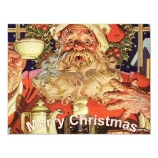 Christmas Santa Claus Personalized Announcement